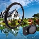 52mm 3 in 1 ronde cirkel UV Lens Filter voldaan Cap voor GoPro HERO5