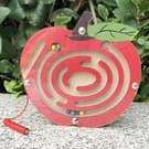 Kinderen puzzel Toy houten magnetische klein nieuwe Apple patroon dierlijke doolhof