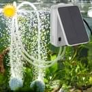 5V opvouwbare Aquarium Fish Tank zonne-energie luchtpomp Oxygenator  Amerikaanse Plug