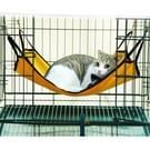 Zachte Polar Fleece kat hangmat  grootte: 64 x 57cm  willekeurige kleur levering