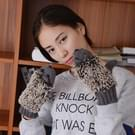Winter Lovely Cartoon muis breien Lady wanten Warm Cartoon Hedgepig Full Finger Gloves(Grey)