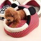 Huisdier benodigdheden afneembare huisdieren Nest Cute Cartoon vorm Mongolië tas kat hondenhuis  kleine  grootte: 37 * 35cm