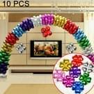 10 PC's vier-blad klaverblaadjes Aluminium Coating ballon boog bruiloft verjaardag feest versiering ballonnen  willekeurige kleur levering