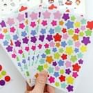 10 stuks Star patroon creatieve kinderen DIY Album dagboek aquarel decoratieve Sticker