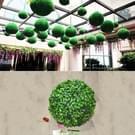 Kunstmatige Aglaia Odorata Plant bal Topiary bruiloft gebeurtenis Home Outdoor decoratie hangend Ornament  Diameter: 4.7 inch