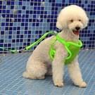 Huisdier kleding monochroom Mesh Harness leiband hond borst bretels met 120x1.0cm tractie touw  klein formaat  buste: 26-58cm  willekeurige kleur levering