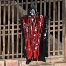 Halloween Voice Control hangende geesten elektrische leuk geanimeerde partij sprekende grappige Ghost  willekeurige kleur levering