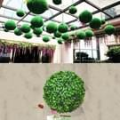 Kunstmatige Aglaia Odorata Plant bal Topiary bruiloft gebeurtenis Home Outdoor decoratie hangend Ornament  Diameter: 14 7 inch