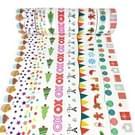 10 stuks een serie Hand Cartoon Kerstdag DIY decoratief briefpapier scheuren kan papier Hand papier kleur en papier Tape