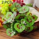 2 PC's kunstplanten voor Plastic bloemen huishouden winkel voorraden decoratie koperen gras Leaf