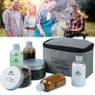 Naturehike 6pcs buiten Camping kruiden flessen blikjes met een zak voor BBQ-draagbare picknick tafelgerei opslagcontainer