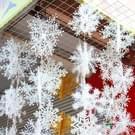 Kerst decoraties sneeuw vlokken 3D Plastic Snowflake serie Set