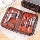 Manicure Set 10 delig multifunctionele roestvrij Manicure Tool  hulpmiddelen voor persoonlijke verzorging