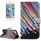 For  iPhone 8 & 7  Meteor Shower Pattern Leather Case with Holder & Card Slots & Wallet