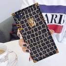 Voor iPhone 8 & 7 pailletten Lock stijl volledige dekking beschermende terug Cover(Gold)