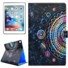 Voor iPad Pro 10.5 inch PU + TPU grafiek patroon horizontale Flip lederen draagtas met houder & Card Slots & portemonnee