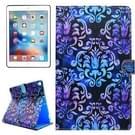 Voor iPad Pro 10.5 inch PU + TPU Palace Flower patroon horizontale Flip lederen draagtas met houder & Card Slots & portemonnee