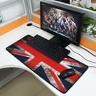 UK Vlag patroon muismat  Afmeting: 70 cm x 30 cm