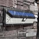 90 LEDs wit licht IP65 waterdicht PIR bewegingsmelder LED Solar Light  SMD 2835 energiebesparende Lamp met 5.5V 1.55W zonnepaneel voor Tuin  Tuin  Park  weg