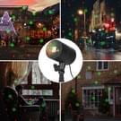 Blinblin CMF-A103 3W IP65 waterdicht ABS Shell landschap licht  dynamische rood + groene Laser Mini buiten Lamp