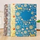 4-pack Floral Cute Cartoon Notebook willekeurige kleur levering