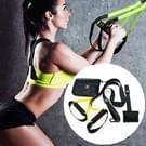 P3-1 Fitness oefening hangende trekken touw TRP3X muur katrol Yoga band  belangrijkste gordel: 1 4 m  Home versie (zwart + geel)