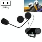 T-COM VB 800m Bluetooth motorfiets helm Intercom Interphone Headset met FM-Radio