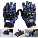 Een paar beschermende motorfiets van Pro-BIKER MCS - 01 C ademend Wearable volledige vinger handschoenen Outdoor sporten houd warme handschoenen  maat: M(20-22cm)(Black+Blue)