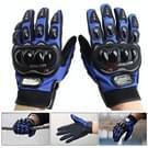 Een paar beschermende motorfiets van Pro-BIKER MCS - 01 C ademend Wearable volledige vinger handschoenen Outdoor sporten houd warme handschoenen  maat: 2XL(28cm)(Black+Blue)