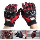 Een paar beschermende motorfiets van Pro-BIKER MCS - 01 C ademend Wearable volledige vinger handschoenen Outdoor sporten houd warme handschoenen  maat: 2XL(28cm)(Black+Red)