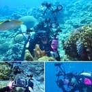PULUZ 40m onderwater diepte duiken zaak waterdichte camerabehuizing voor Sony A6300(Black)