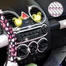 468 PCS Glitter Crystal Diamond decoratie / schijnt Rhinestone Sticker voor auto Sticker & celtelefoon Ornament (roze + zilver)