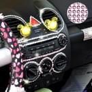 468 PCS Glitter Crystal Diamond decoratie / schijnt Rhinestone Sticker voor auto Sticker & mobiele telefoon Ornament(Pink)