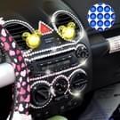468 PCS Glitter Crystal Diamond decoratie / schijnt Rhinestone Sticker voor auto Sticker & celtelefoon Ornament (donkerblauw)