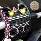 468 PCS Glitter Crystal Diamond decoratie / schijnt Rhinestone Sticker voor auto Sticker & celtelefoon Ornament (Beige)(Green)
