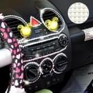 468 PCS Glitter Crystal Diamond decoratie / schijnt Rhinestone Sticker voor auto Sticker & mobiele telefoon Ornament(White)