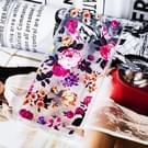 Transparante lak schilderij zachte TPU Case voor Galaxy Note9(Flowers)
