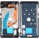 Voorzijde behuizing LCD frame bezel Plate voor Nokia 8 Sirocco (zwart)