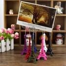 Mini Eiffel toren vorm Desktop standbeeld informatie notecard houder foto clip Home Art Deco gift  willekeurige kleur levering