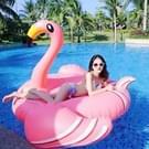 Opblaasbare Flamingo gevormde zwevende Mat zwemmen Ring  opgeblazen grootte: 190 x 200 x 130 cm