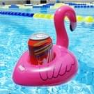 Inflatable Flamingo Shaped Floating Drink Holder  Inflated Size: About 17.5 x 17 x 15.5cm