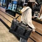 Droge en natte scheiden schouder Travel Bag recreatieve Sport handtas met schoenen Socket (zwart)