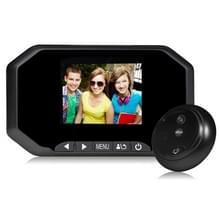 Danmini YB-30AHD 3.0 duim scherm 2.0MP Security Camera No verstoren Peephole Viewer  Support TF-Card / Night Vision / Video Recording(Black)