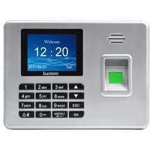 A3 2 8 inch kleur TFT scherm biometrische vingerafdruk Time Attendance  USB-communicatie Office Time Attendance klok (zilver)