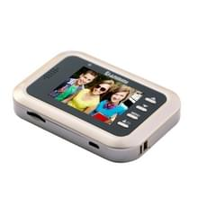 Danmini Q8 2.4 inch kleur scherm 1.0MP Security Camera No verstoren Peephole Viewer  Support TF-Card (32 GB Max) / Night Vision / PIR Motion Detection(Gold)