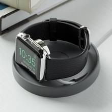 JOKORO zachte rubber opladen base stand houder voor Apple horloge (grijs)