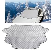 Auto voorruit cover sneeuw cover plus katoen auto voorruit zon schaduw winter auto sneeuw schild cover  willekeurige kleur levering