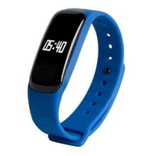 M8 bloeddruk hartslag Bluetooth Smart armband  stappenteller / slapen Monitor / Call herinnering / afstand / calorieën / bloed Oxygen(Blue)