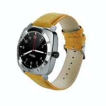 X3 1 33 inch IPS van de volledige ronde Touch Screen blauwtooth slimme horloge telefoon met SIM opbergruimte voor pinpassen voor Android Smartphones  steun stappenteller / Remote Camera / slaap bewaking / sedentaire herinnering / beveiliging anti-verlies