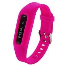 Voor de Fitbit One Smart Watch Silicone horlogeband  lengte: Ongeveer 24.2cm (wijn rood)